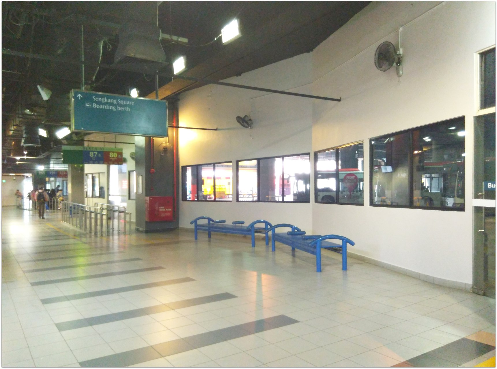 A&A works at Seng Kang Bus Interchange (S$ 1.388 M)